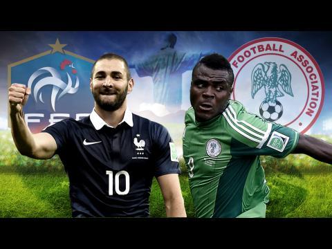 Mondial 2014: L'équipe de France à quelques minutes de son huitième de finale contre le Nigéria