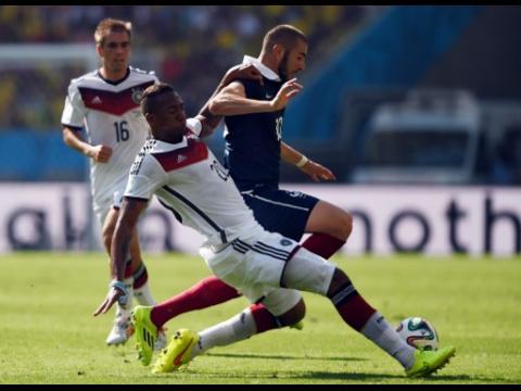 But en 3D : France - Allemagne (0:1) Les bleus éliminés en quarts de finale