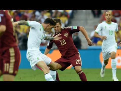 Coupe Du Monde 2014 : L'Algérie qualifiée pour les huitièmes de finale. Voir les buts en 3D.
