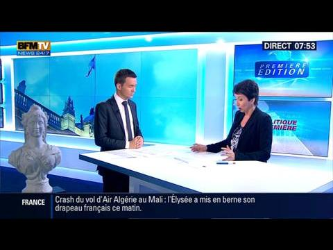 Politique Première: François Hollande a géré efficacement les suites du crash du vol d'Air Algérie – 28/07