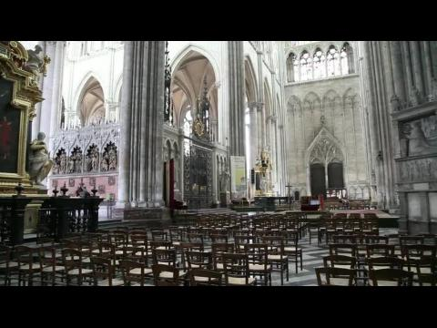 Cathedral of Our Lady of Amiens, Interior, South Transept - Amiens, France