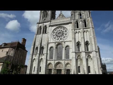 Our Lady of Chartres Cathedral, West Facade (Portail Royale) - Chartres, France