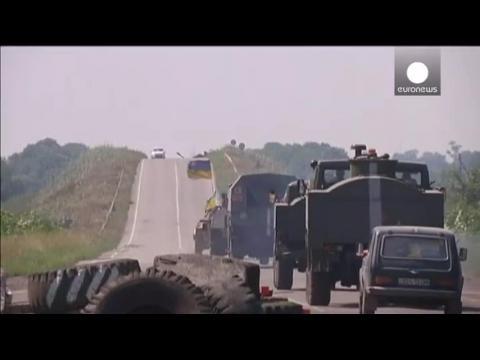 L'exode des réfugiés continue dans l'Est de l'Ukraine